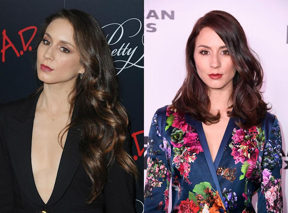 """<p><b>When: January 2017 </b><br>The """"Pretty Little Liars"""" beauty cut her hair for the first time in seven years! Celeb stylist Dave Stanwell chopped Troian's signature flowing brunette locks into a sexy, shoulder-length layered lob—and she owns it! Are you loving the new short 'do as much as we are? <i>(Photos: Getty/January 2017)</i> </p>"""