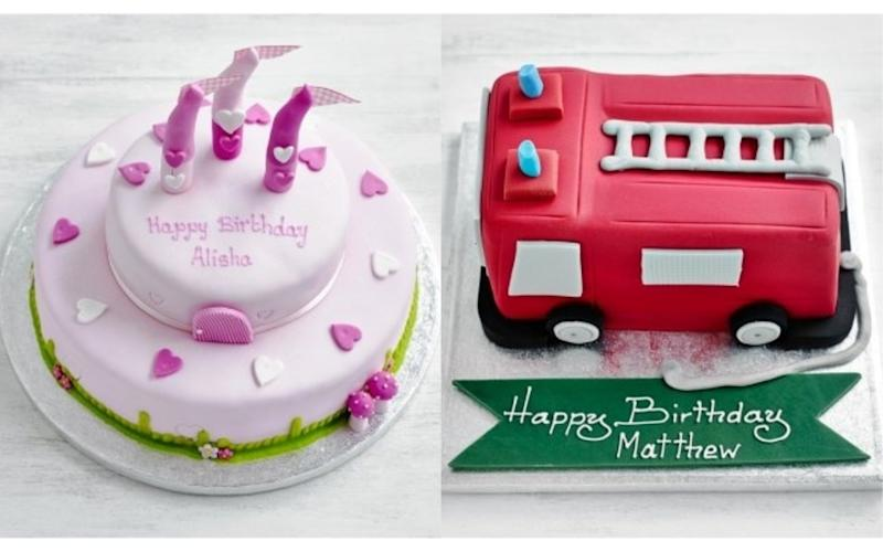 Woman Criticises Waitrose For Gendered Cakes