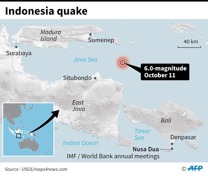 Bali rattled by quake ahead of Dr M's visit