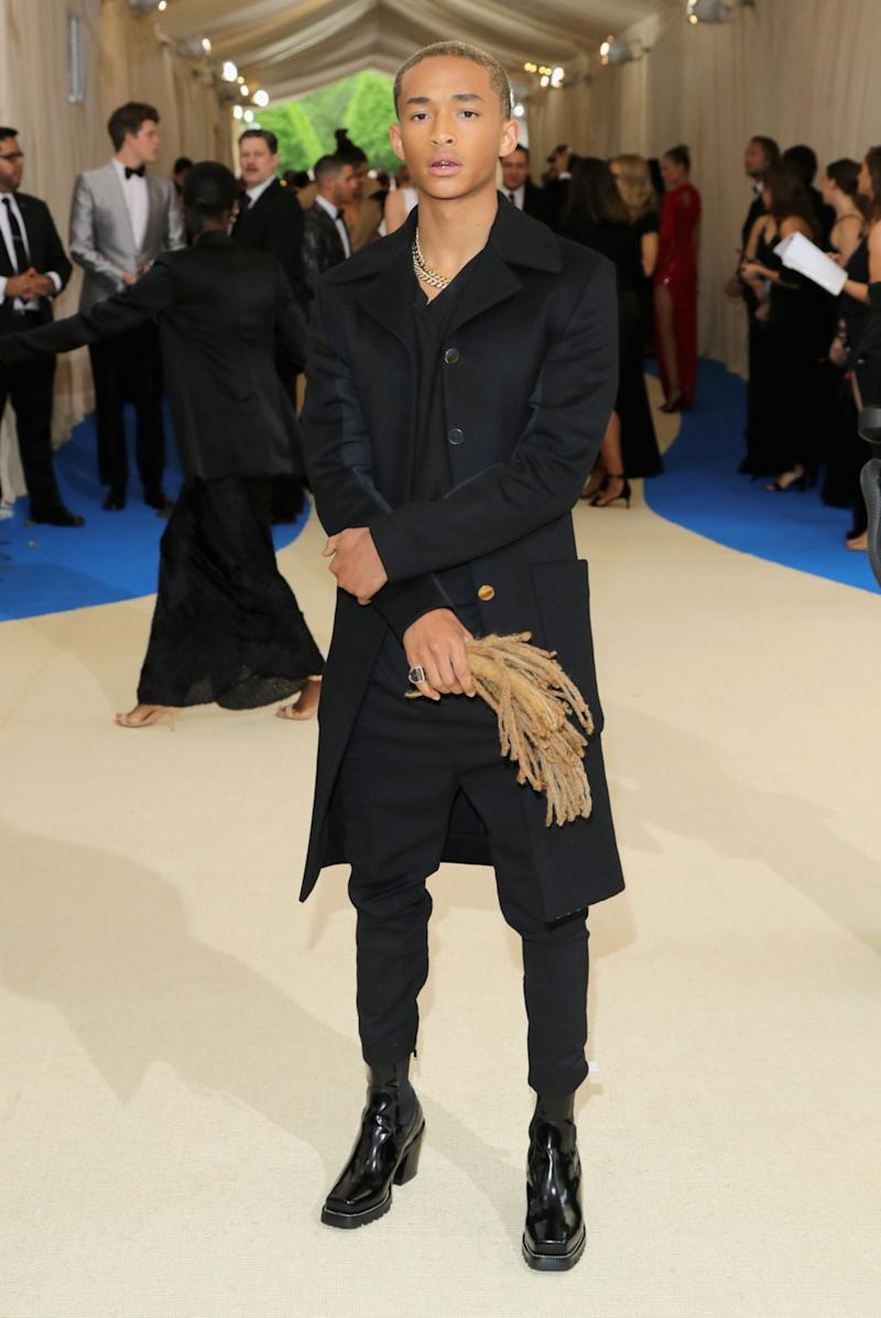 Jaden Smith Accessorized With a Handbag Made From His Hair
