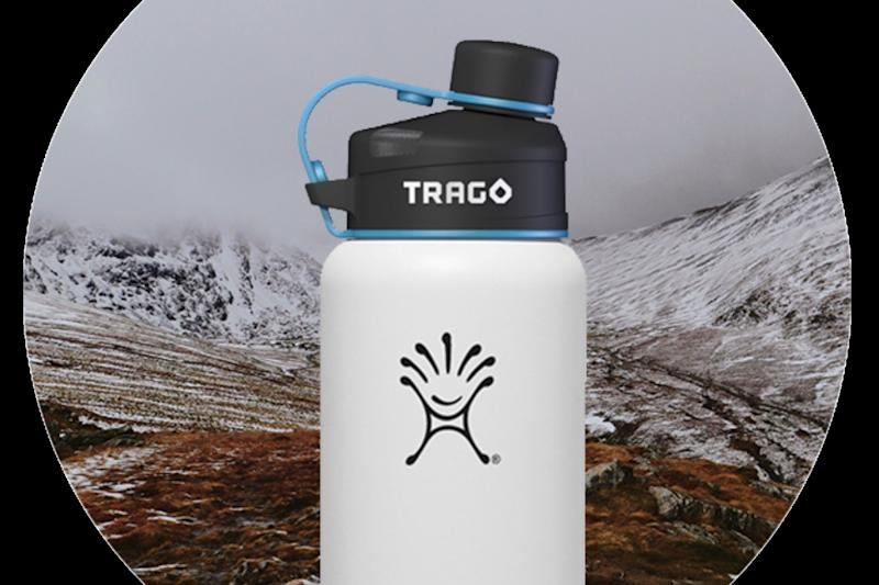 The Trago Bottle Cap Tracks Your Water Intake To Make Sure Youre
