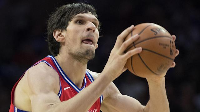 Boban Marjanovic will give Brett Brown big man minutes off the bench while Jimmy Butler has the night off. By Serena Winters