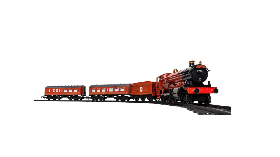 Harry Potter Hogwarts Express Train Set. Image via Best Buy.