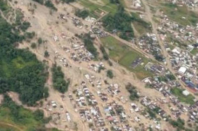 Homes destroyed: 112 people have been confirmed dead in Columbia: Columbia Fire Service