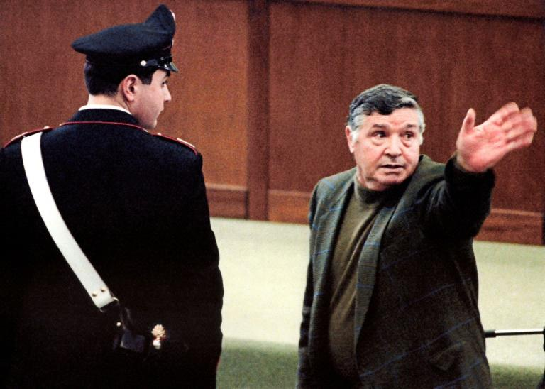 Mafia boss Salvatore 'Toto' Riina was known as 'The Beast' because of his cruelty