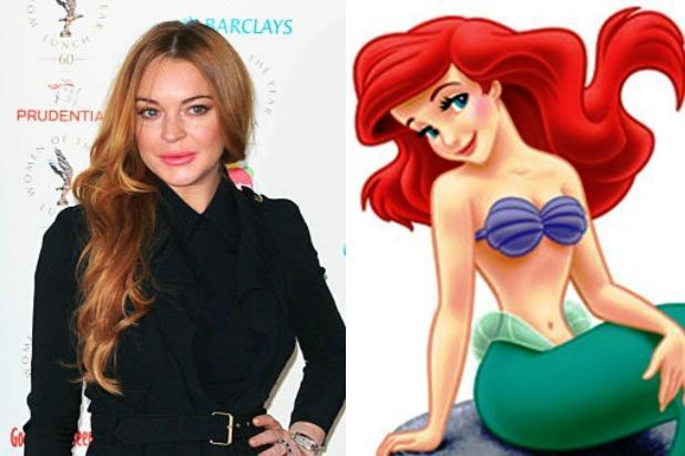 Lindsay Lohan Really, Truly and Desperately Wants to Play 'Little Mermaid'