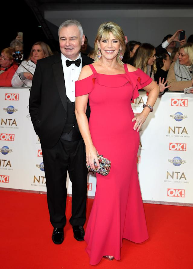 Ruth Langsford revealed the actress had shared her secrets with her husband Eamonn Holmes. (Getty Images)
