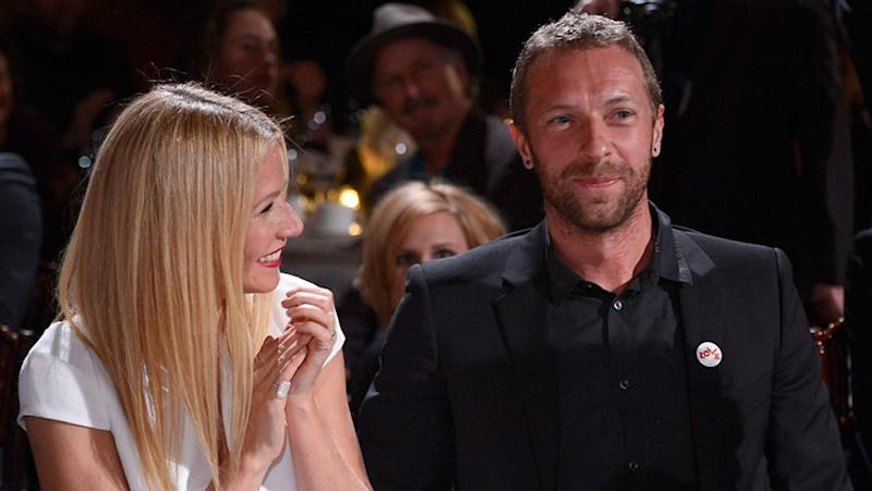 Chris Martin was noticeably absent from the engagement party, even though he and Gwyneth remain on good terms. Source: Getty.