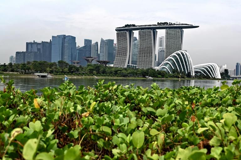 Singapore's elite are increasingly nervous about the unrest in rival financial hub Hong Kong