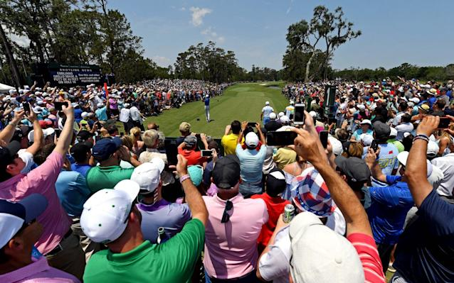 All eyes were on Tiger Woods Thursday at The Players Championship. (REUTERS)