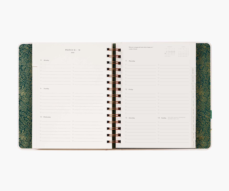 "<h3><a href=""https://riflepaperco.com/2021-wild-garden-17-month-planner"" rel=""nofollow noopener"" target=""_blank"" data-ylk=""slk:Rifle Paper Co. 17-Month Planner"" class=""link rapid-noclick-resp"">Rifle Paper Co. 17-Month Planner</a></h3><br><br><strong>Rifle Paper Co</strong> 17-Month Planner, $, available at <a href=""https://go.skimresources.com/?id=30283X879131&url=https%3A%2F%2Friflepaperco.com%2F2021-wild-garden-17-month-planner"" rel=""nofollow noopener"" target=""_blank"" data-ylk=""slk:Rifle Paper Co"" class=""link rapid-noclick-resp"">Rifle Paper Co</a>"