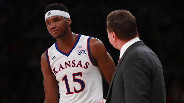 Coach Bill Self said Bragg will move on to another school. The sophomore was arrested in December and January, impacting his season.