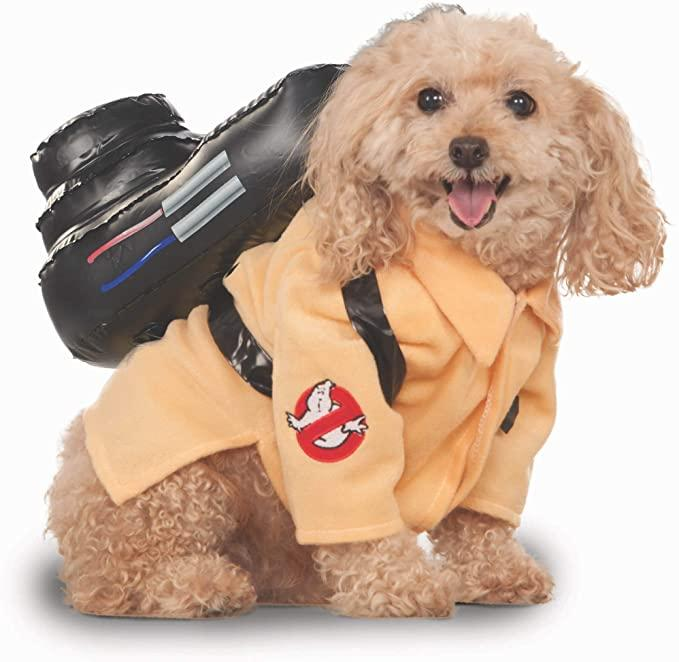 Ghostbusters Movie Collection Pet Costume. Image via Amazon.