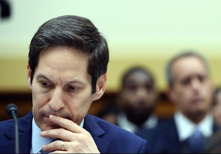 US Centers for Disease Control and Prevention Director Tom Frieden testifies in Washington, DC, on August 7, 2014 (AFP Photo/Jewel Samad)