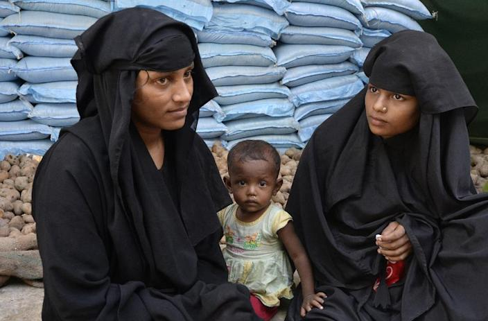 Efforts to encourage birth control in Rohingya refugee camps have failed, with some parents having up to 19 children (AFP Photo/Tauseef MUSTAFA)