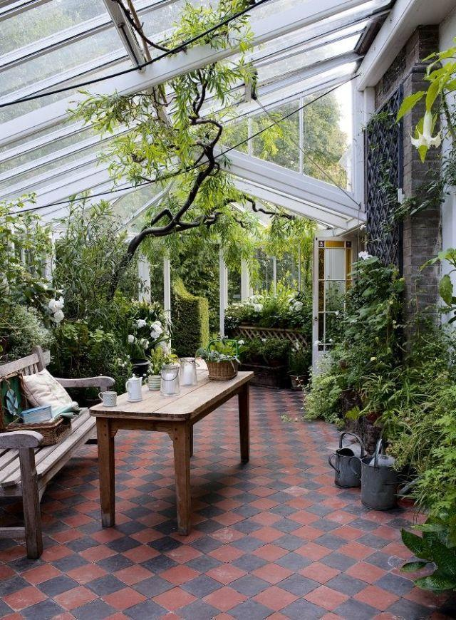 """<p><span>Extending your living space while creating an open, airy, <a rel=""""nofollow noopener"""" href=""""http://www.countryliving.co.uk/homes-interiors/interiors/how-to/a1862/ways-to-bring-natural-light-into-home/"""" target=""""_blank"""" data-ylk=""""slk:light-filled room"""" class=""""link rapid-noclick-resp"""">light-filled room</a> is an enticing proposition. A glazed extension, with large areas of glass offering views to the garden beyond, allows you to connect more closely with nature. </span></p><p><span>Orangeries, which have elements of glass, stone or brickwork and a lantern roof, are increasingly popular, as are garden rooms with a solid roof. Both types of building can be integrated into the style of your house better than a glass conservatory, as you can match up materials such as roof tiles and bricks. It's easier to regulate the temperature in orangeries and garden rooms as they're less subject to extremes of weather than a room constructed solely of glass. </span></p>"""