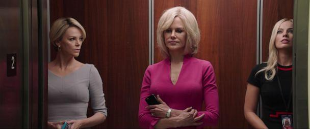 PHOTO: Charlize Theron, Nicole Kidman and Margot Robbie are seen in the trailer for 'Bombshell.' (Lionsgate Movies/YouTube)