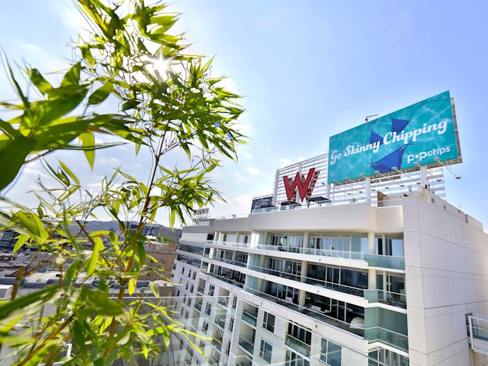 "The W Hollywood. <p class=""copyright"">Tiffany Rose/Getty Images for Third Street Media Group</p>"