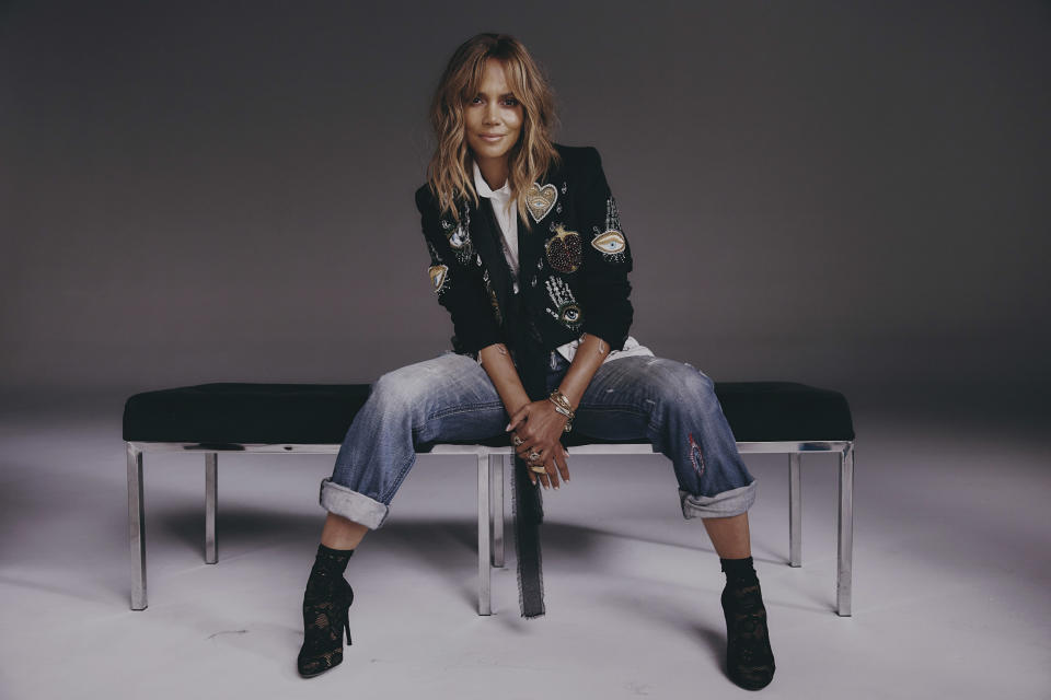 Halle Berry in Los Angeles, Aug. 25, 2021. (Adrienne Raquel / The New York Times)