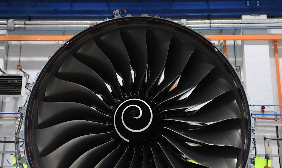 Embattled engine maker Rolls-Royce has returned to profit in the first half of 2021, but warned the pandemic-hit international aviation industry was not set to recover until after 2022 (PA) (PA Archive)