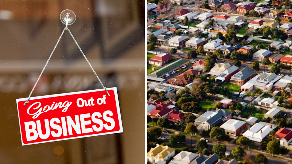 If Australia falls into recession, will property markets sink or swim? (Source: Getty)