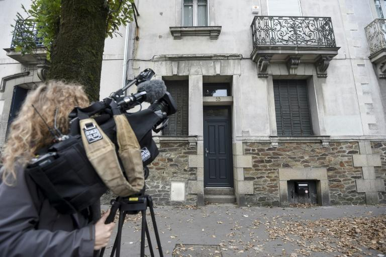 Dupon de Ligonnes is suspected of shooting dead his family and burying them in a house in the French city of Nantes (AFP Photo/Sebastien SALOM-GOMIS)