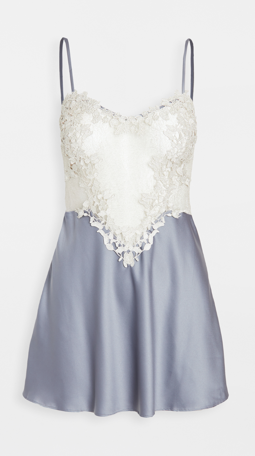 Flora Nikrooz 'Showstopper' Charmeuse Chemise with Lace (Photo via Shopbop)