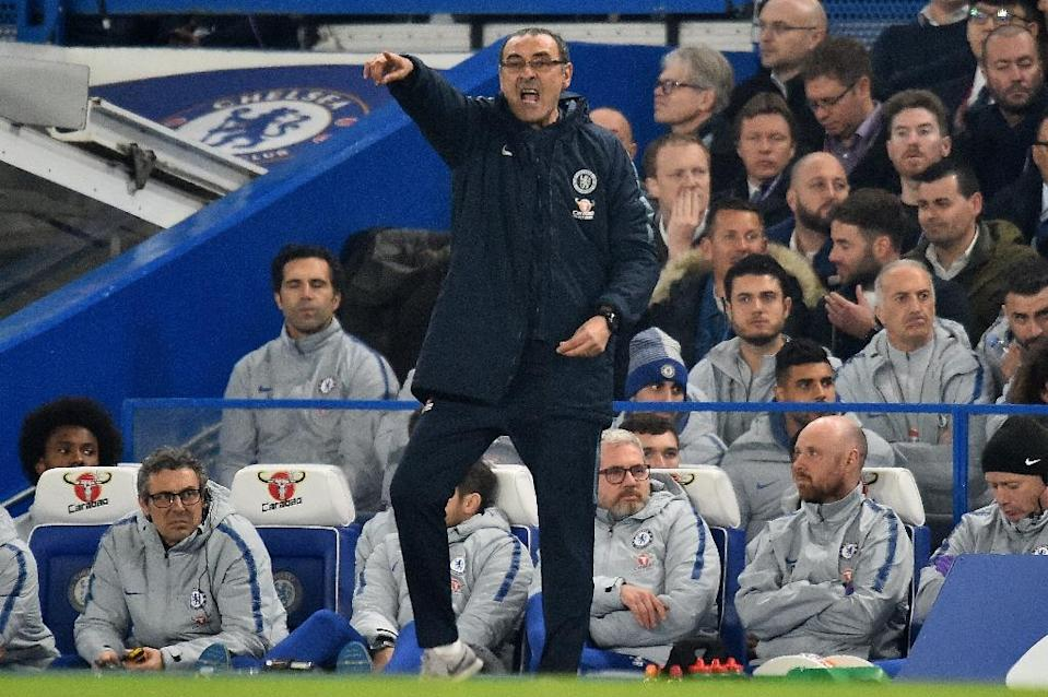 Chelsea boss Maurizio Sarri remains under pressure despite their win over Spurs (AFP Photo/Glyn KIRK )