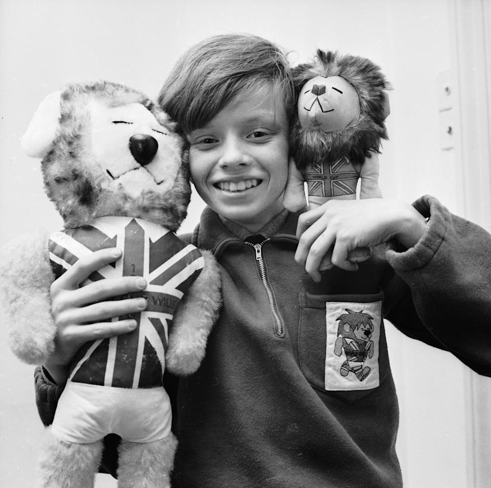 Willie the Lion, our World Cup Mascot, released a song in 1966 (Getty Images)