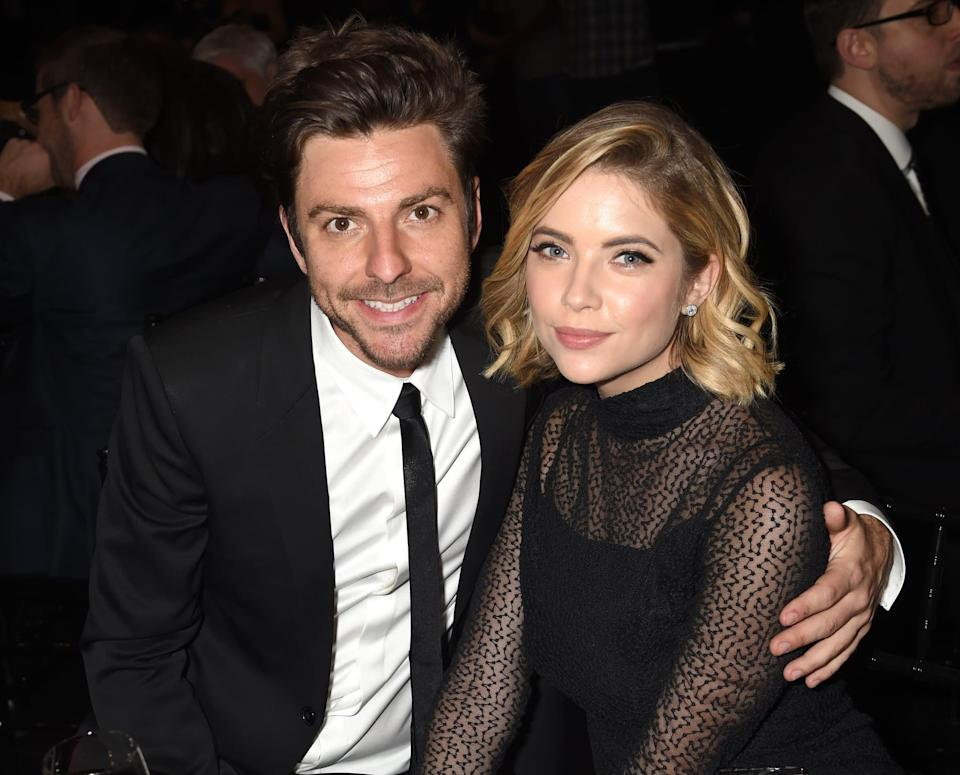 """<p>Ashley's longest relationship was perhaps with Justin Bieber's Drew House business partner. <a href=""""https://people.com/style/cara-delevingne-and-ashley-benson-split-after-nearly-two-years-of-dating/"""" class=""""link rapid-noclick-resp"""" rel=""""nofollow noopener"""" target=""""_blank"""" data-ylk=""""slk:The couple dated on and off"""">The couple dated on and off</a> from 2011 to 2016.</p>"""