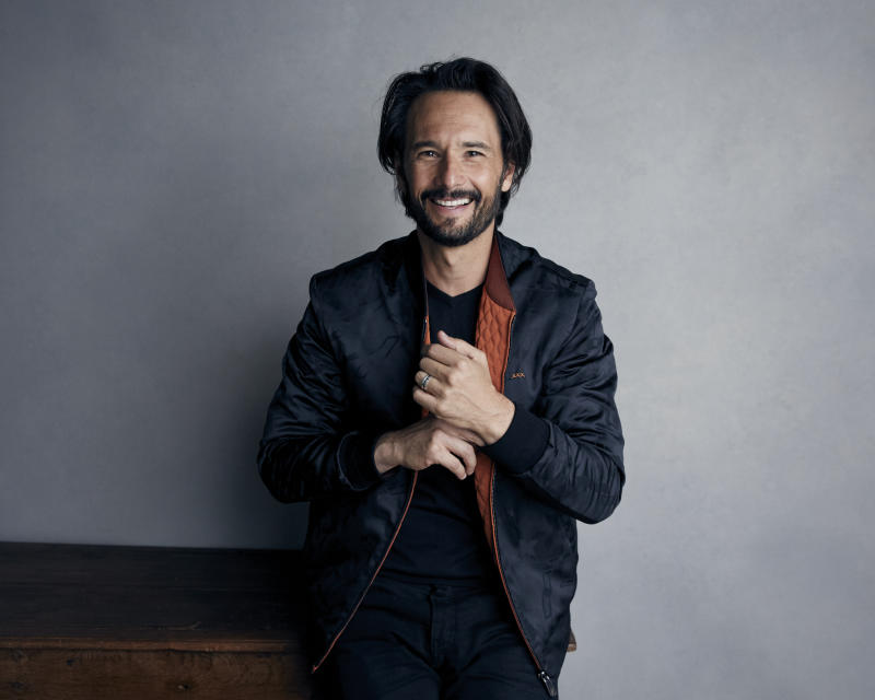 "Rodrigo Santoro poses for a portrait to promote the film, ""Un Traductor,"" at the Music Lodge during the Sundance Film Festival on Sunday, Jan. 21, 2018, in Park City, Utah. (Photo by Taylor Jewell/Invision/AP)"