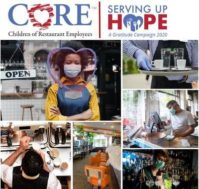 A gratitude campaign, Serving Up Hope is taking place during National Food & Beverage Employee week (November 9 - 15, 2020).