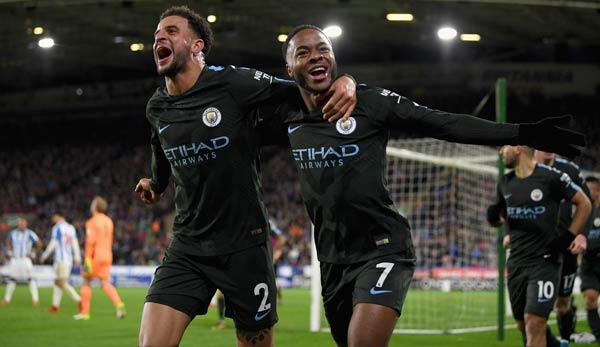 Premier League: Sterling rettet City-Serie - Arsenal springt auf 4