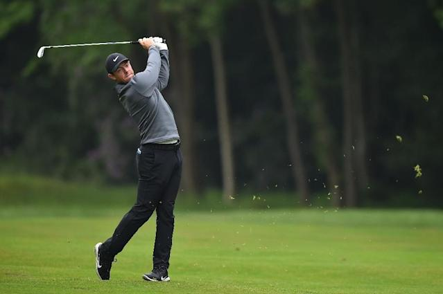 Rory McIlroy is on song at the PGA Championship at Wentworth (AFP Photo/Glyn KIRK )