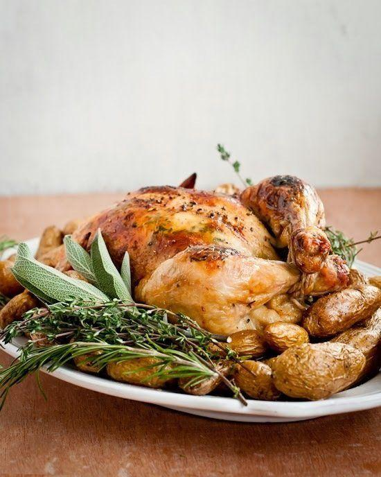 "<strong>Get the <a href=""http://cafejohnsonia.com/2013/11/how-to-maple-mustard-roasted-chicken-recipe.html"" target=""_blank"" data-beacon-parsed=""true"">Maple Mustard Roasted Chicken recipe</a> from Cafe Johnsonia</strong><a href=""https://www.huffingtonpost.com/2015/08/19/roast-chicken-recipes_n_6922528.html#5949318"" data-beacon-parsed=""true""></a>"