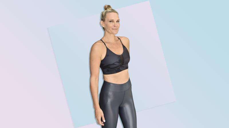 Model Molly Sims Just Shared a 20-Minute Circuit Workout on Instagram—and Her Abs Look Amazing