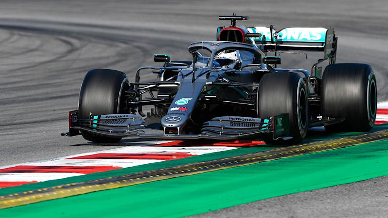 Valtteri Bottas came close to breaking the lap record in Barcelona. Pic: Getty