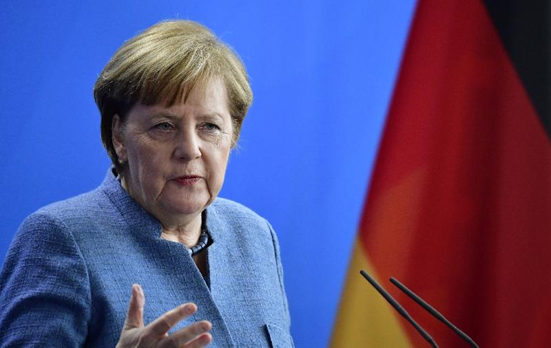 German Chancellor Angela Merkel's pragmatic style still plays well in an ageing nation that tends to favour continuity over change -- but analysts say she is past her zenith (AFP Photo/Tobias SCHWARZ)