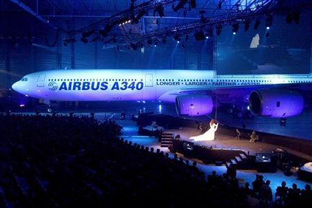 AIRBUS INDUSTRIE PRESENTS AIRBUS A340-600 AT ROLLOUT IN TOULOUSE.