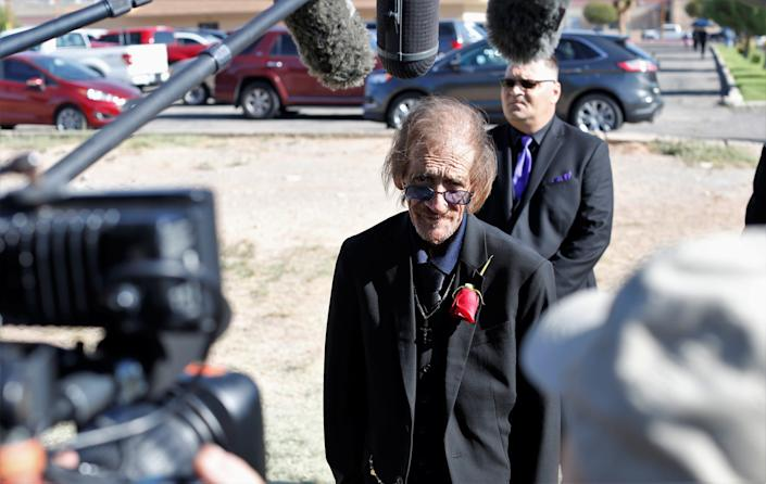 Margie Reckard's widower, Antonio Basco. asked the El Paso community to join in saying goodbye to his late wife. She was laid to rest at the Restlawn Memorial Park cemetery in Northeast El Paso on Saturday, Aug. 17, 2019.