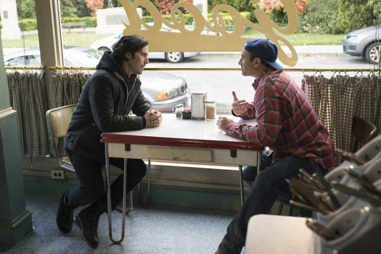 Milo Ventimiglia and Scott Patterson (Credit: Netflix)