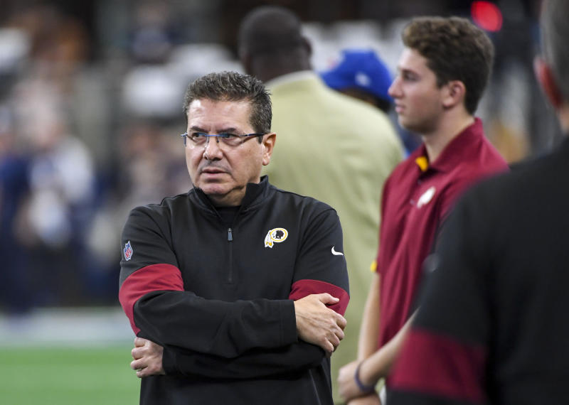 Washington's Daniel Snyder has had an embarrassing 20-year run as the team's owner. (Photo by Jonathan Newton / The Washington Post via Getty Images)