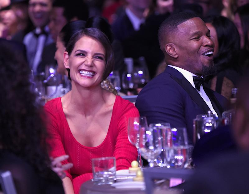 Jamie Foxx Walked Away From an Interview After Being Asked About Katie Holmes