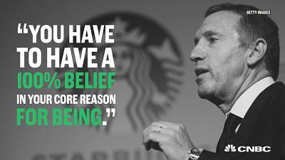 Howard Schultz plans to step down as Starbucks CEO in 2017. Here are some of his most thought-provoking quotes from his time leading the company.