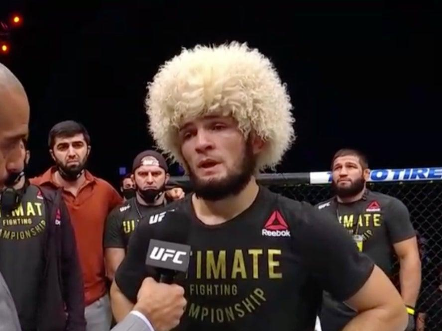 Khabib announced his retirement (ESPN)