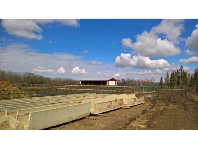 "<p>The property has been well maintained since it was built in 2000, and has been operating as a grain and cattle farm over that time. (Listing via <a href=""https://www.remax.ca/ab/rural-parkland-county-real-estate/na-27023-twp-rd-511-road-na-wp_id173150109-lst/"" rel=""nofollow noopener"" target=""_blank"" data-ylk=""slk:Remax"" class=""link rapid-noclick-resp"">Remax</a>) </p>"