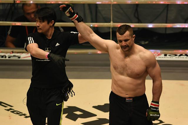 Mirko Cro Cop will not fight anymore after suffering a stroke. (Photo by Etsuo Hara/Getty Images)