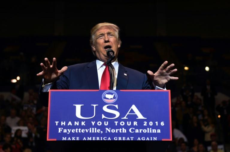 Donald Trump will be inaugurated as the 45th US president on January 20