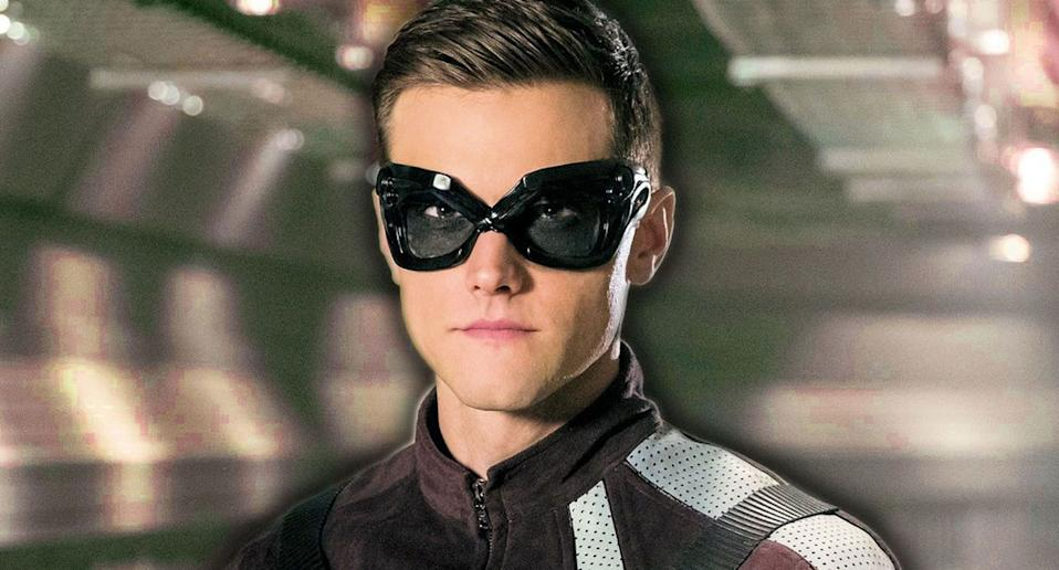 Hartley Sawyer in The Flash. (The CW)