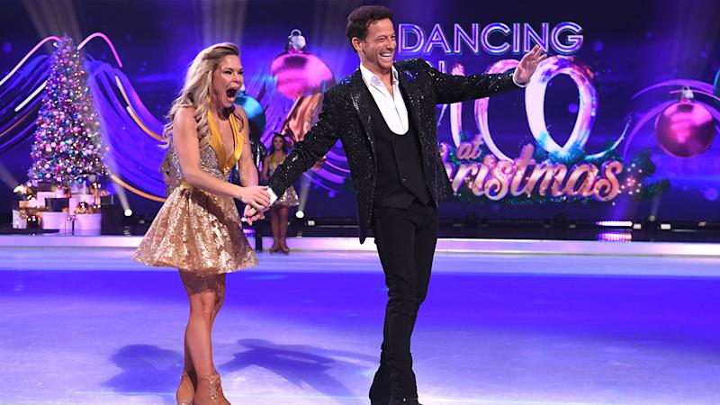 Joe Swash won this year's show with his partner Alexandra Schauman (Getty Images)